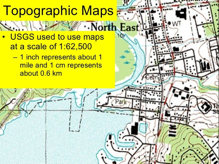 Lab five us geological survey topographic maps & us public