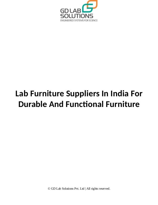 Lab Furniture Suppliers In India For Durable And Functional Furniture © GD Lab Solutions Pvt. Ltd   All rights reserved.