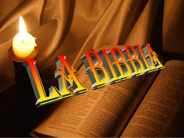 LA BIBBIALA BIBBIATermine di origine greca che significa: i libriin greco: η βιβλος ( il libro)diminutivo το βιβλιον (i li...