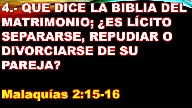 Biblia Habla Matrimonio : La biblia habla sobre el matrimonio