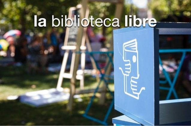 la biblioteca libre