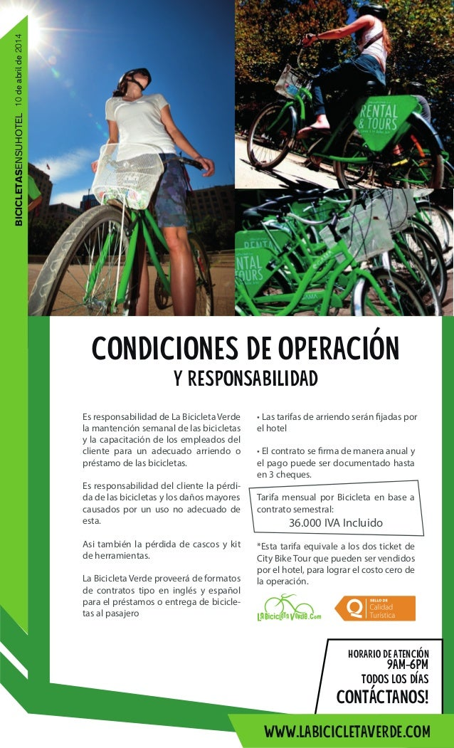 La Bicicleta Verde en tu Hotel Slide 3