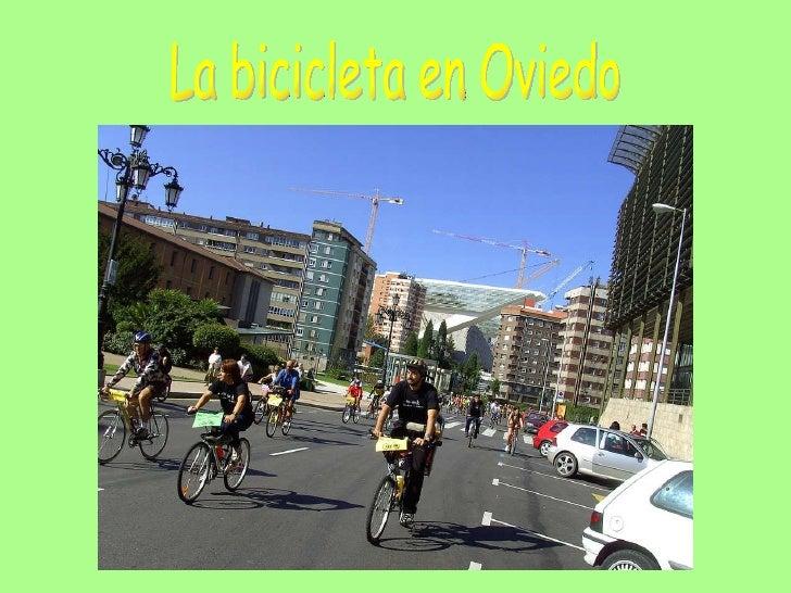 La bicicleta en Oviedo