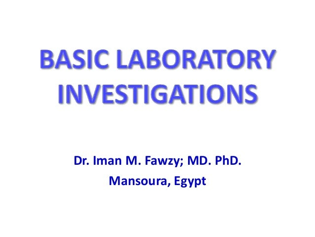 Dr. Iman M. Fawzy; MD. PhD. Mansoura, Egypt