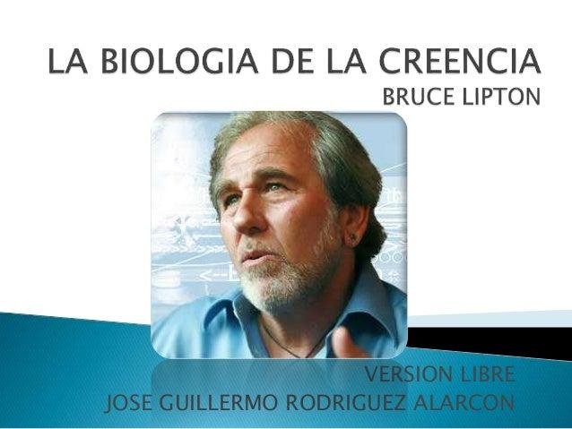 la biologia de la creencia bruce lipton pdf gratis