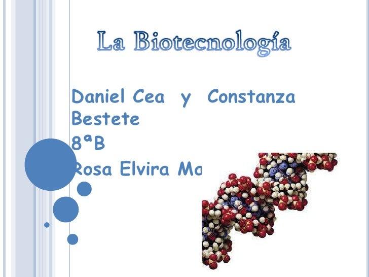Daniel Cea y ConstanzaBestete8ªBRosa Elvira Matte