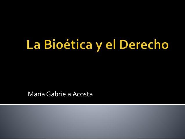 María Gabriela Acosta