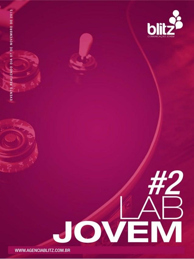 LabJovem #2 - Moda, Grafite, Música, Tatuagem, Esportes e Cultura Urbana