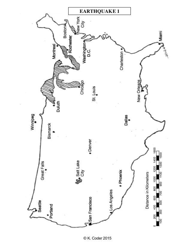 Lab locating epicenters