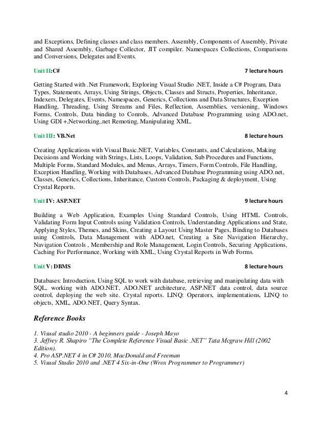 asp net lab manual rh slideshare net visual basic 2010 lab manual Lab Manual Uhart