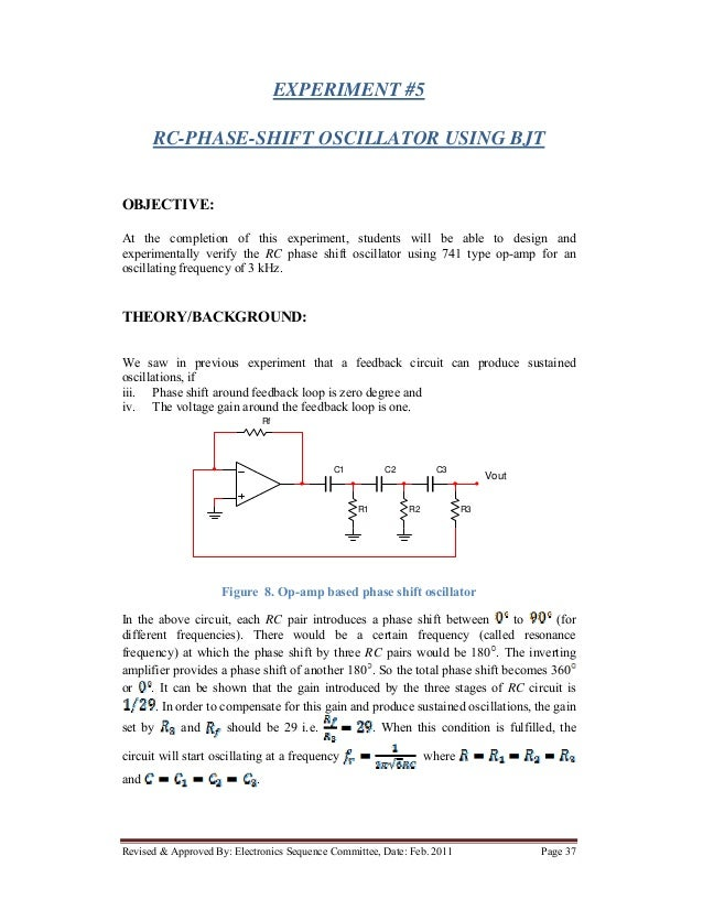 Electronic circuits Lab Manual Anna university