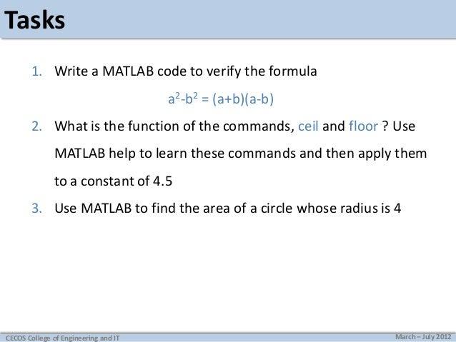 Matlab No1