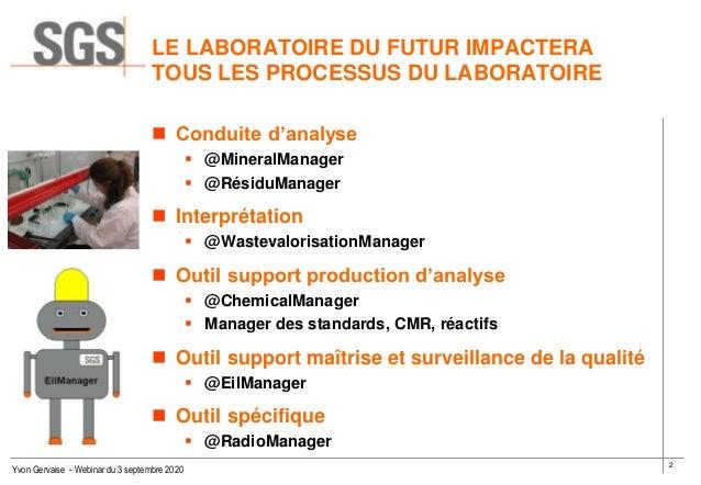 """Labo du futur webinaire SECF """" septembre 2020 exposé de  Yvon Gervaise Slide 2"""