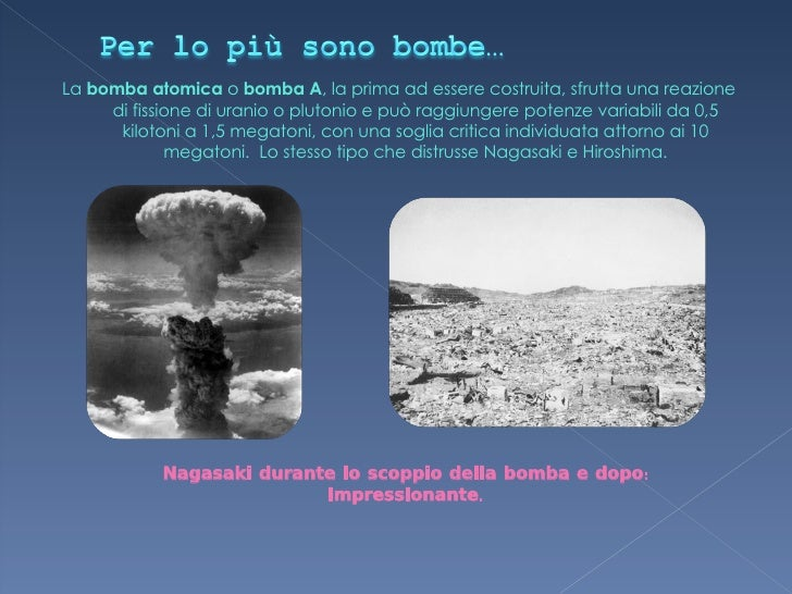 primo test nucleare della storia