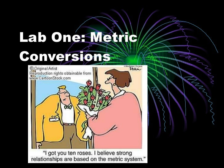 Lab One: Metric Conversions