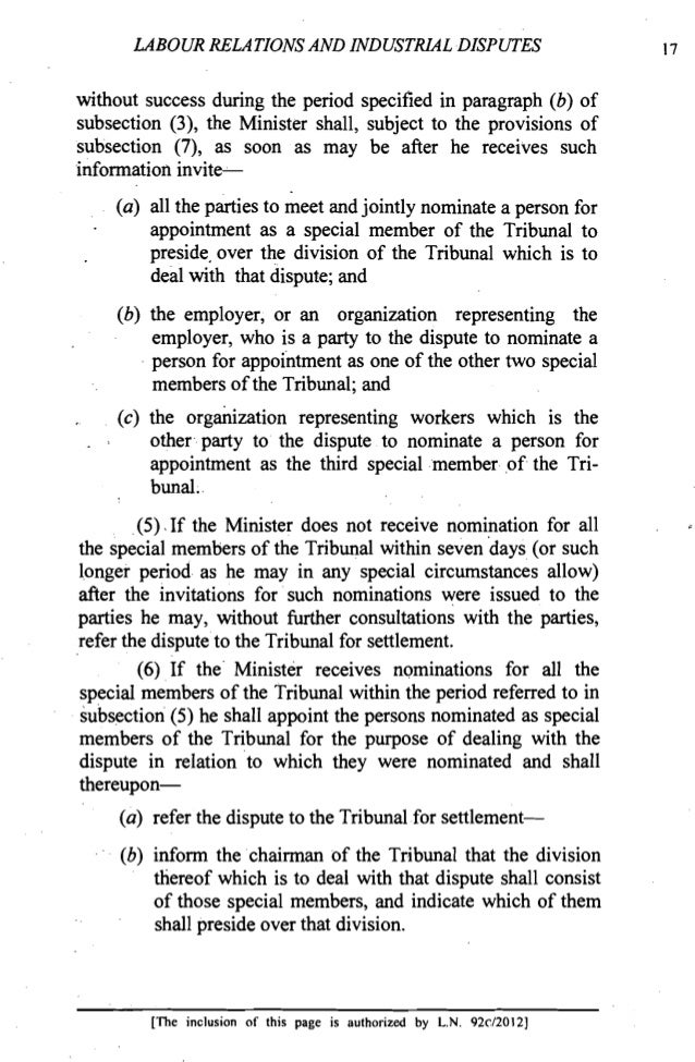industrial dispute essay Free essay: final project of labour legislations submitted by:- devina asthana khushboo asthana isha anand neha soni case on industrial disputes petitioner:.
