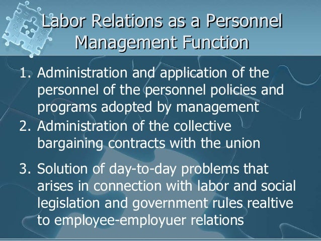 labor management relations in the philippines pdf