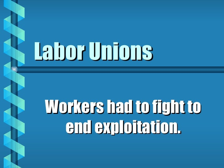 are labor unions in the u s Unions range in size, from less than a hundred union members to millions and cover a wide range of industries this findlaw article provides an extensive list of unions in the us.