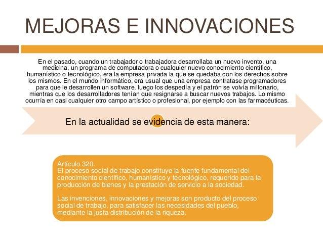 mejoras e invenciones concepto