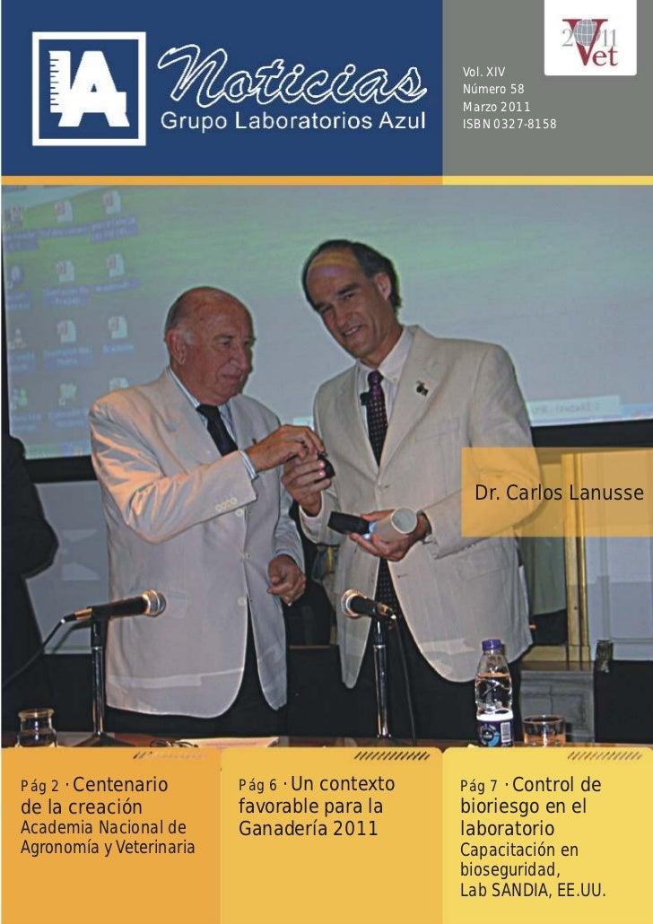 Vol. XIV                                               Número 58                                               Marzo 2011 ...