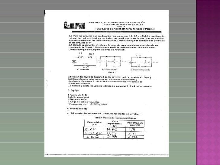 Laboratorio circuitos Slide 2