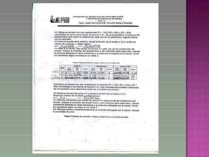 Laboratorio circuitos Slide 3