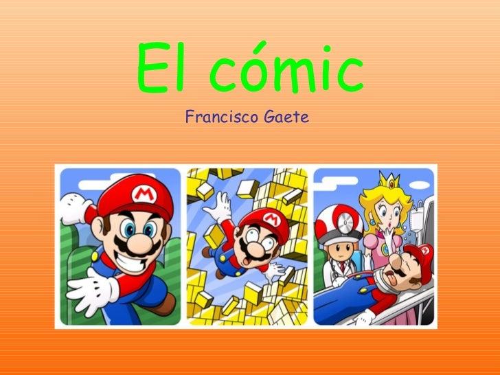 El cómic Francisco Gaete