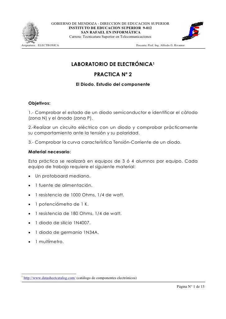 GOBIERNO DE MENDOZA - DIRECCION DE EDUCACION SUPERIOR                             INSTITUTO DE EDUCACION SUPERIOR 9-012   ...