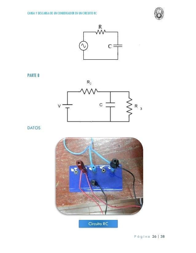 Circuito Rc : Laboratorio 4 física iii