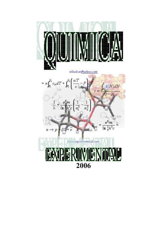 Laboratorio quimica inrganica nilsalcasyahoo alexcaspohotmail 2006 urtaz Gallery