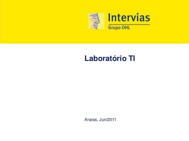 Laboratório TI Araras, Jun/2011
