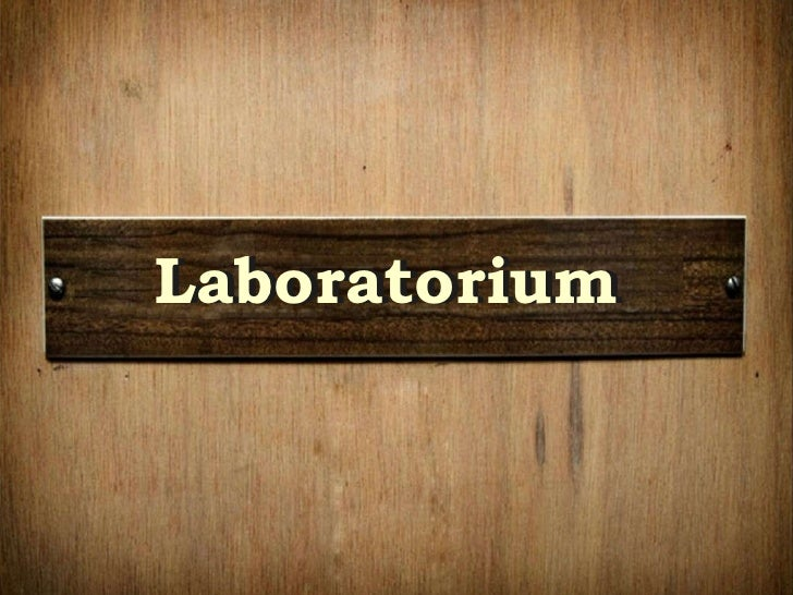 Laboratorium Laboratorium