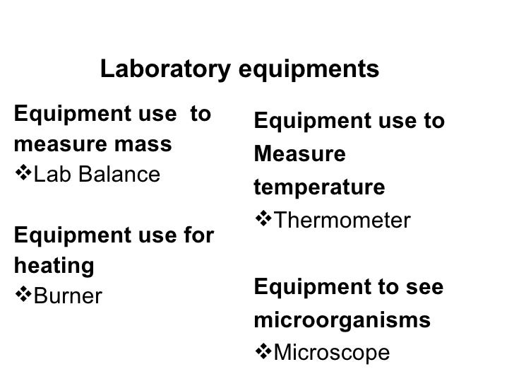 Laboratory Equipments And Skills 9 Grade
