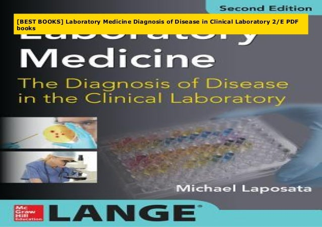 Best Books Laboratory Medicine Diagnosis Of Disease In Clinical Lab