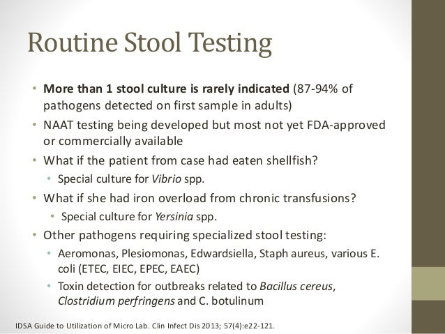 Stool Test Report Fecalysis Stool Examination