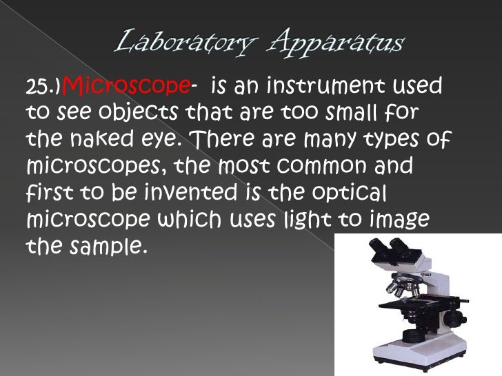 laboratory instruments and their uses pdf