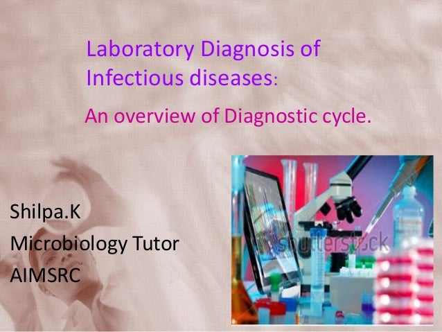 Laboratory Diagnosis of Infectious diseases: An overview of Diagnostic cycle. Shilpa.K Microbiology Tutor AIMSRC