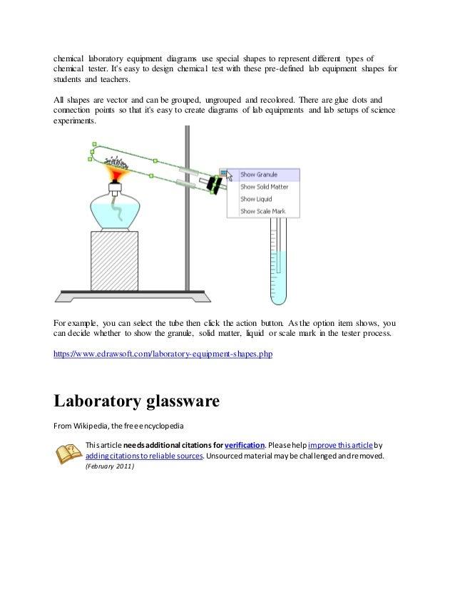 Laboratory Equipments In English