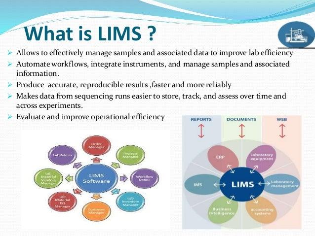 Laboratory Information Management System Lims
