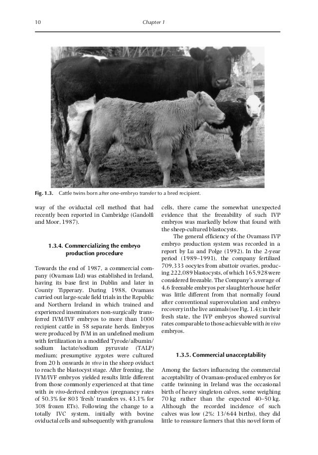 a study on twinning in cattle Start studying asi 105 cattle learn vocabulary, terms, and more with flashcards, games, and other study tools.