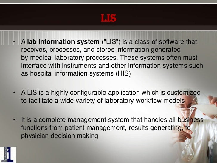 Laboratory Services In Hospital By Ihmr B