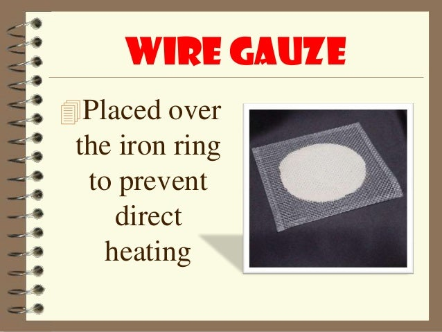 Iron RingUsed Assupport To The Wire Gauze