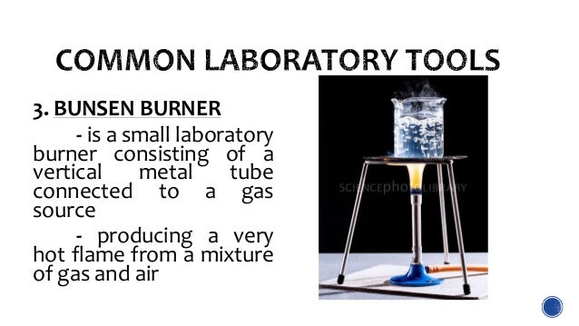 laboratory tools and safety measures