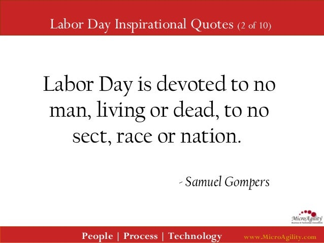 Quotes About Labor Day. Labor Day Quotes On Inspiration To ...