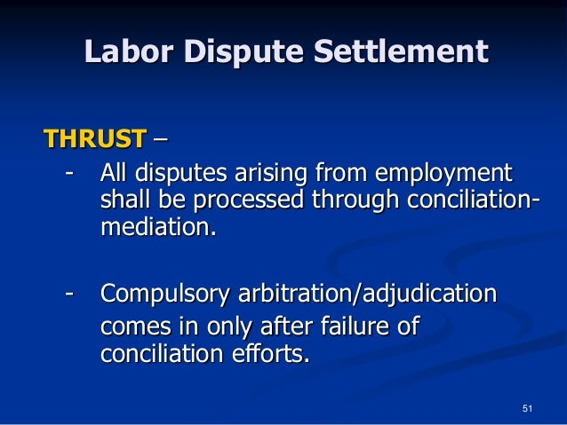 labor disputes essay This is not an example of the work written by our professional essay writers methods of dispute resolution employee and employer to solve labor disputes.