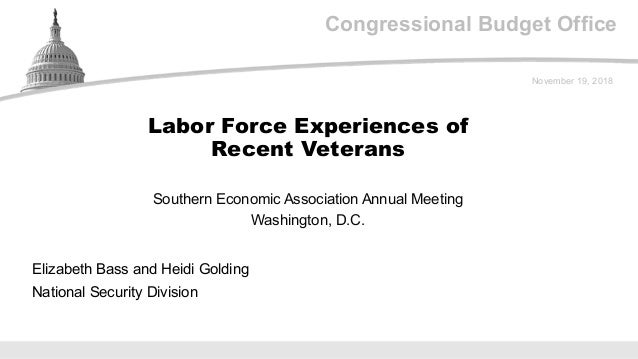 Veteran Policymaker Says 80 Percent Of >> Labor Force Experiences Of Recent Veterans
