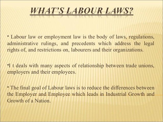 sources of labour law