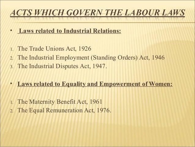 labour laws pdf