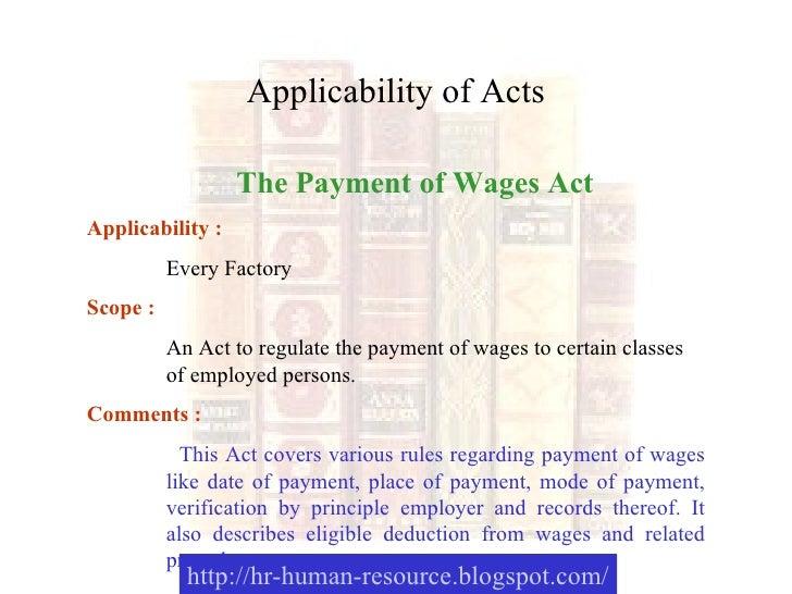 Training Module On Labour Laws