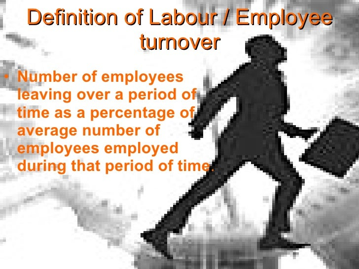 labour turnover Part I